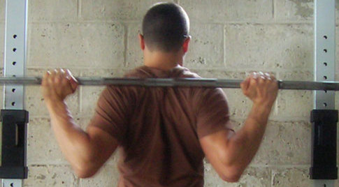 Squat Bar Position