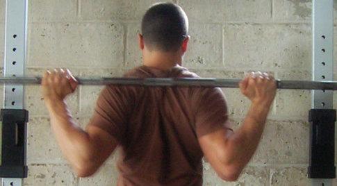 Squat Bar Position